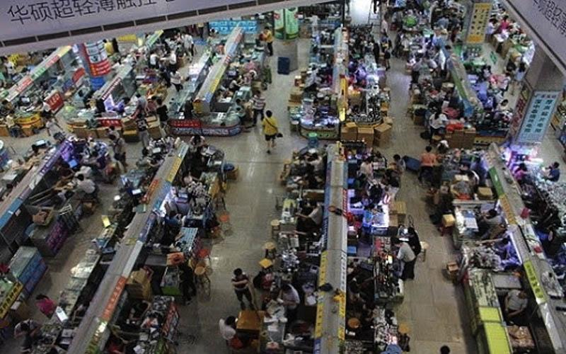 Khu chợ điện tử lớn tại Trung Quốc mà bạn không thể bỏ qua.